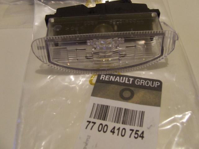 Lampka Oświetlenia Tablicy Rejestracyjnej Renault Clio Ii